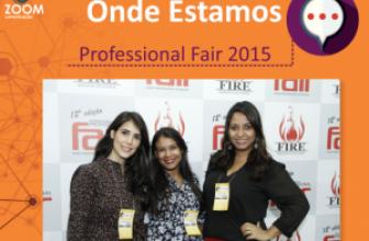 ZOOM COMUNICAÇÃO NA PROFESSIONAL FAIR 2015